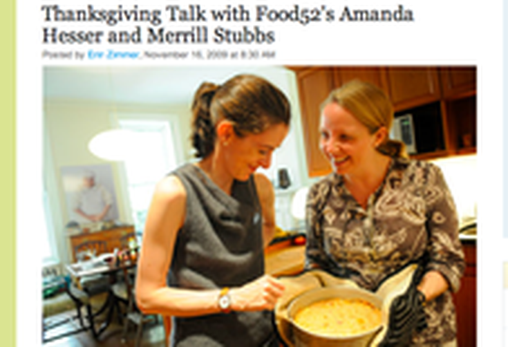 Serious Eats | Thanksgiving Talk With Amanda and Merrill