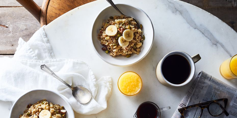 A warm and nutty breakfast bowl.